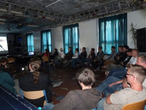 Die Filmpremiere im Mosaik Jugendclub am 26.05.2015