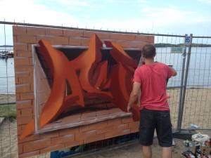 Atme - Art aus Hamburg beim Graffiti Contest
