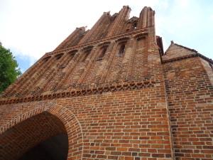Eines der 4 Tore: Das Friedländer Tor.