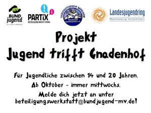 Werbung Gnadenhof_Überschrift