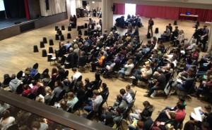 Rund 300 Kinder und Jugendliche besuchten die Demokratiekonferenz