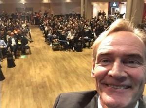 Selfie mit dem OBM der Stadt Leipzig