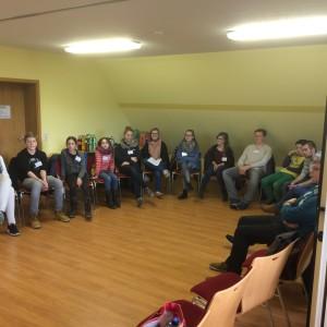 die Jugendlichen aus dem Amt Grabow - hier bei einem Treffen in Balow