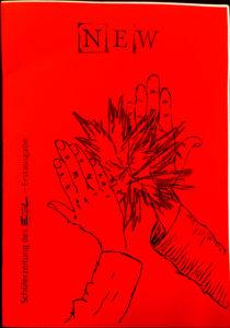 Die erste Ausgabe der Schülerzeitung in Lübz.